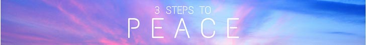 3 Steps to Peace